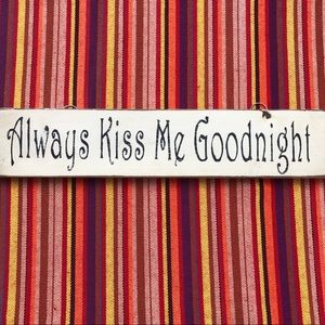 Rustic Wooden Hanging Sign